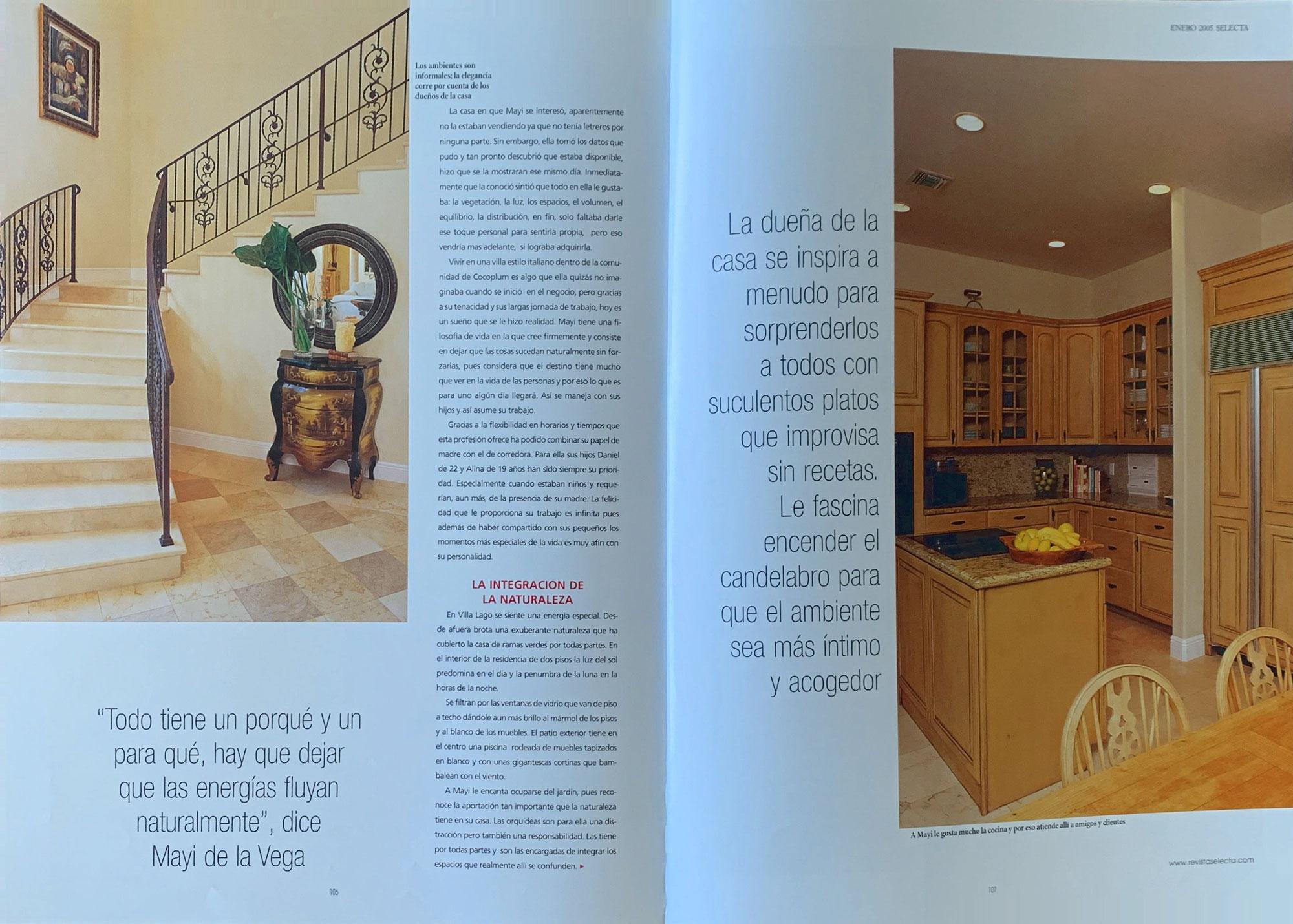Selecta Magazine - News & Press by Garcia Mathies