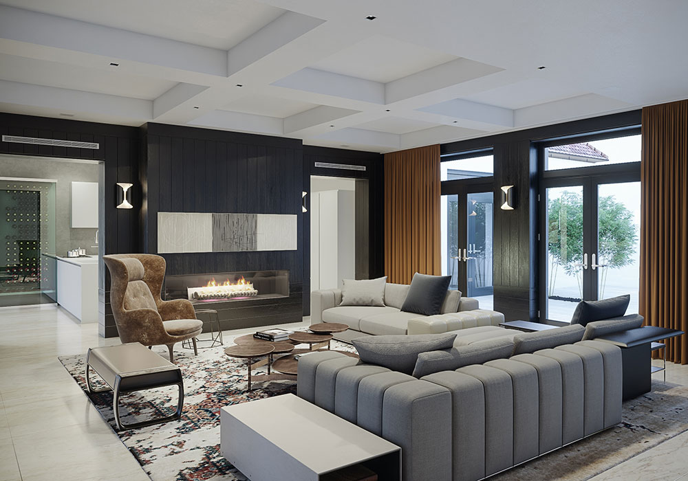 City House 6 Interior Design by Garcia Mathies