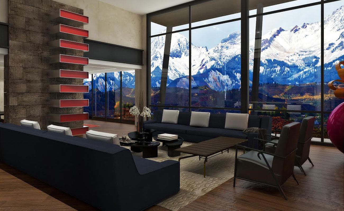 Mountain House 1 by Garcia Mathies